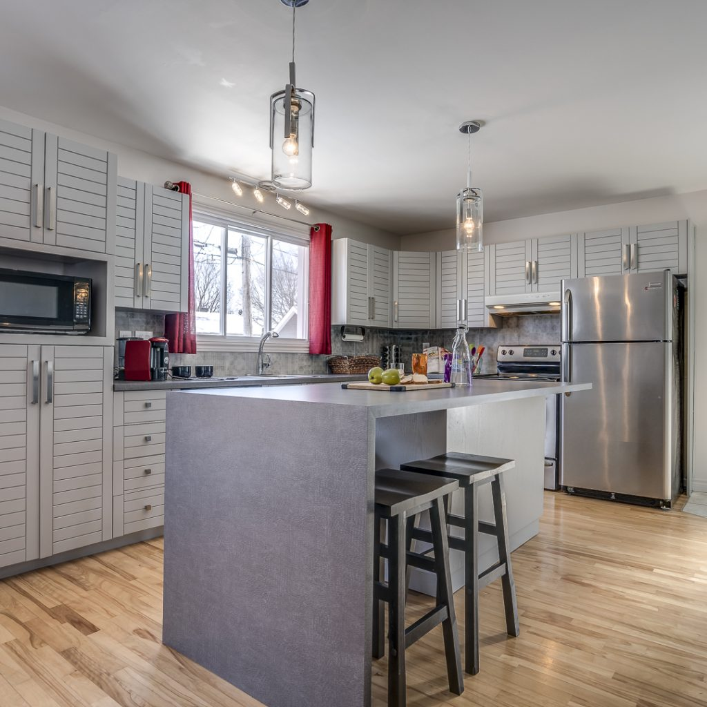 Ilot Home staging quebec après